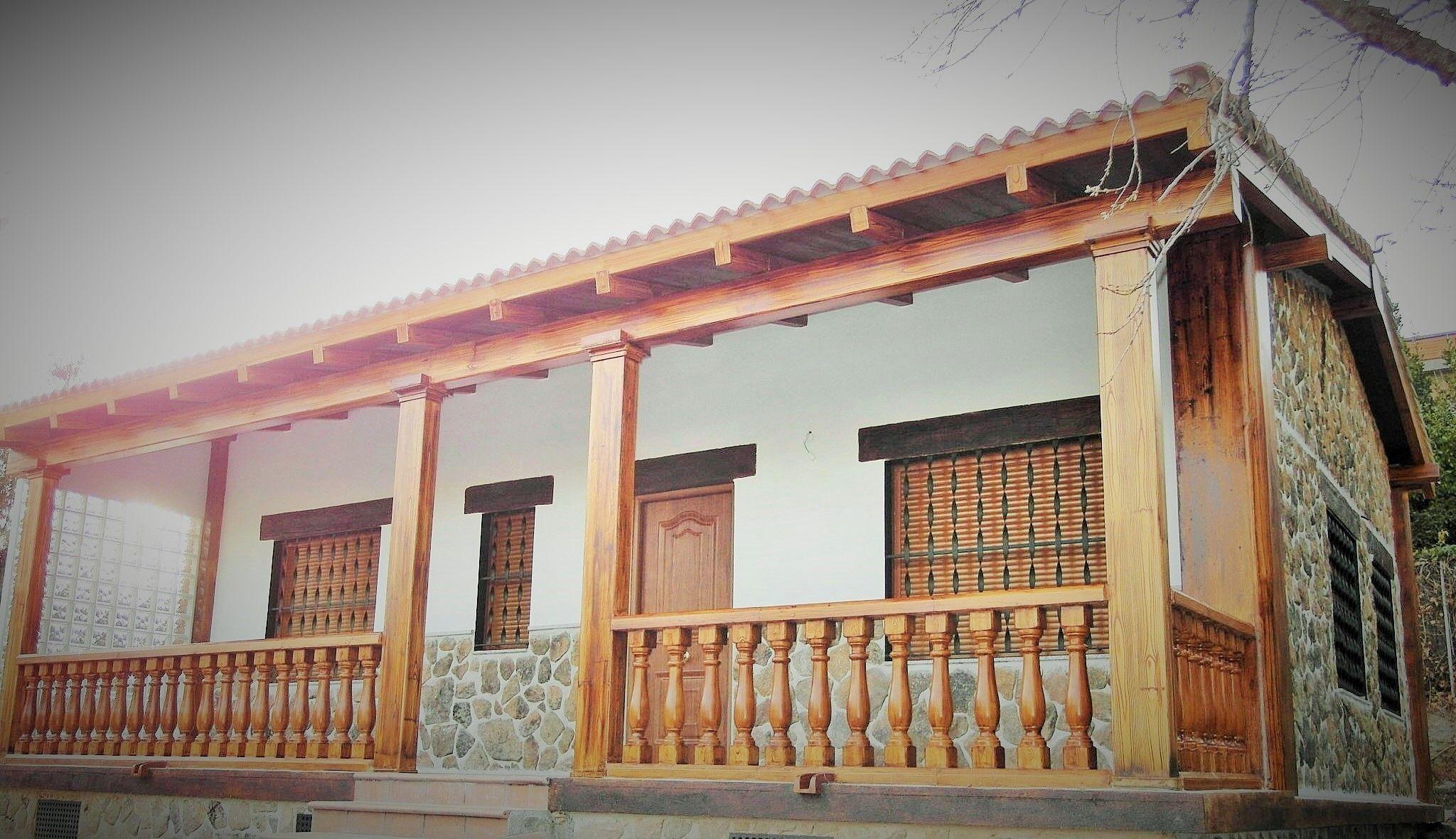 Casa de campo prefabricada de acero y hormigon casa de for Casas de campo prefabricadas