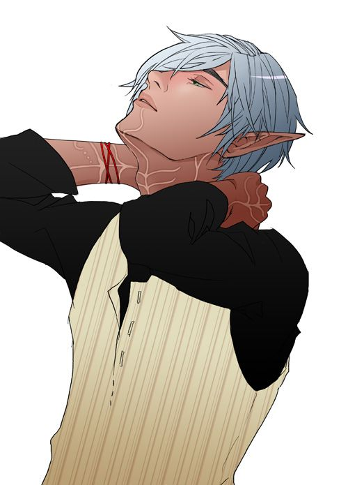 How cute is this contemporary version of Fenris? ~ Breathe by fettucine on deviantART