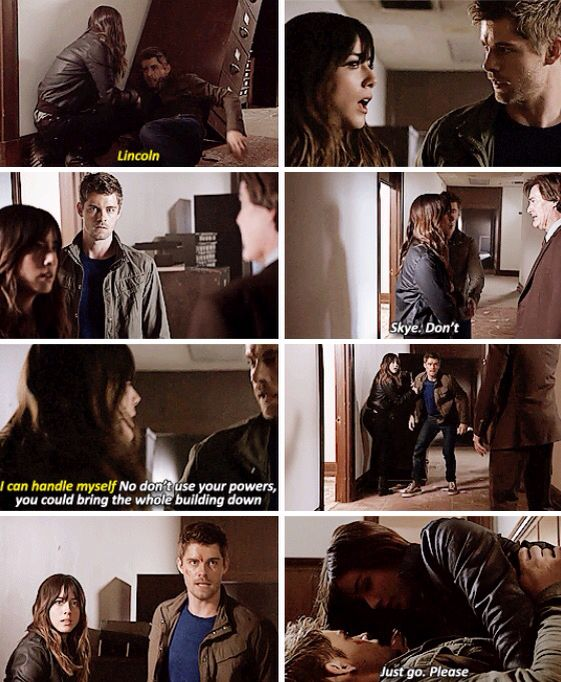 "#AgentsofSHIELD 2x18 ""The Frenemy of My Enemy"" - Skye, Lincoln and Cal"