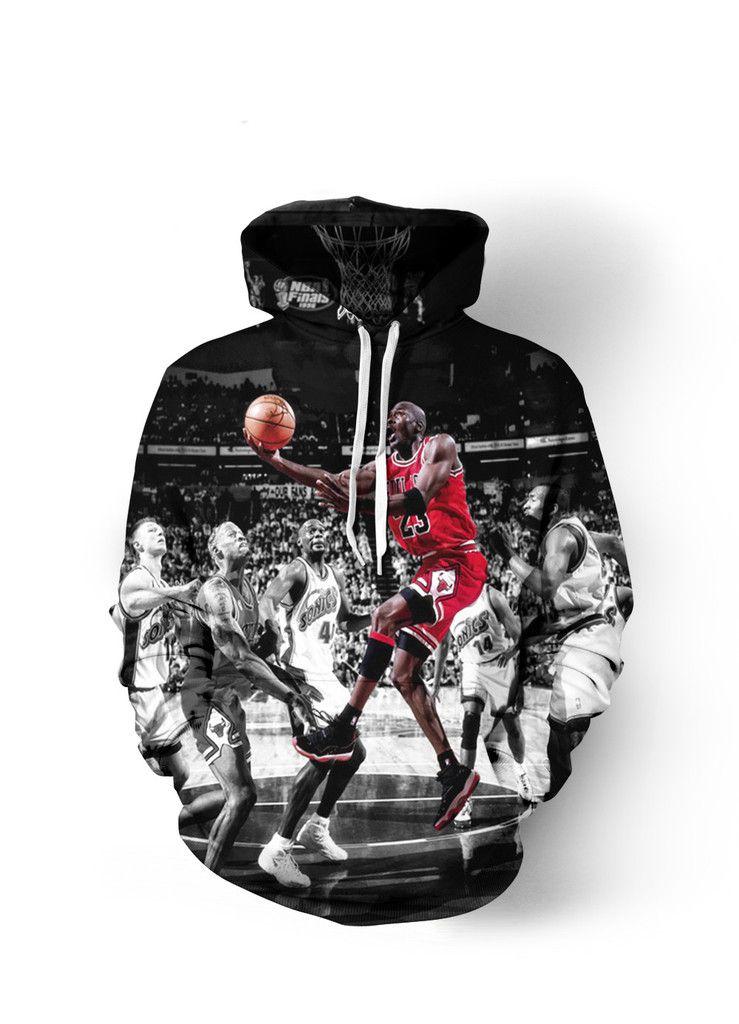 Michael Jordan #23 Greatness Hoodie