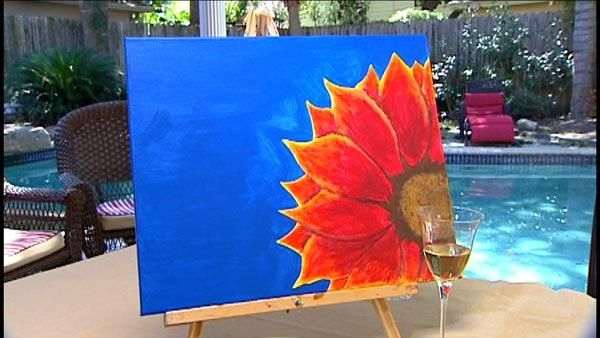 S Night Painting Party Good Idea For Entertaining At Home