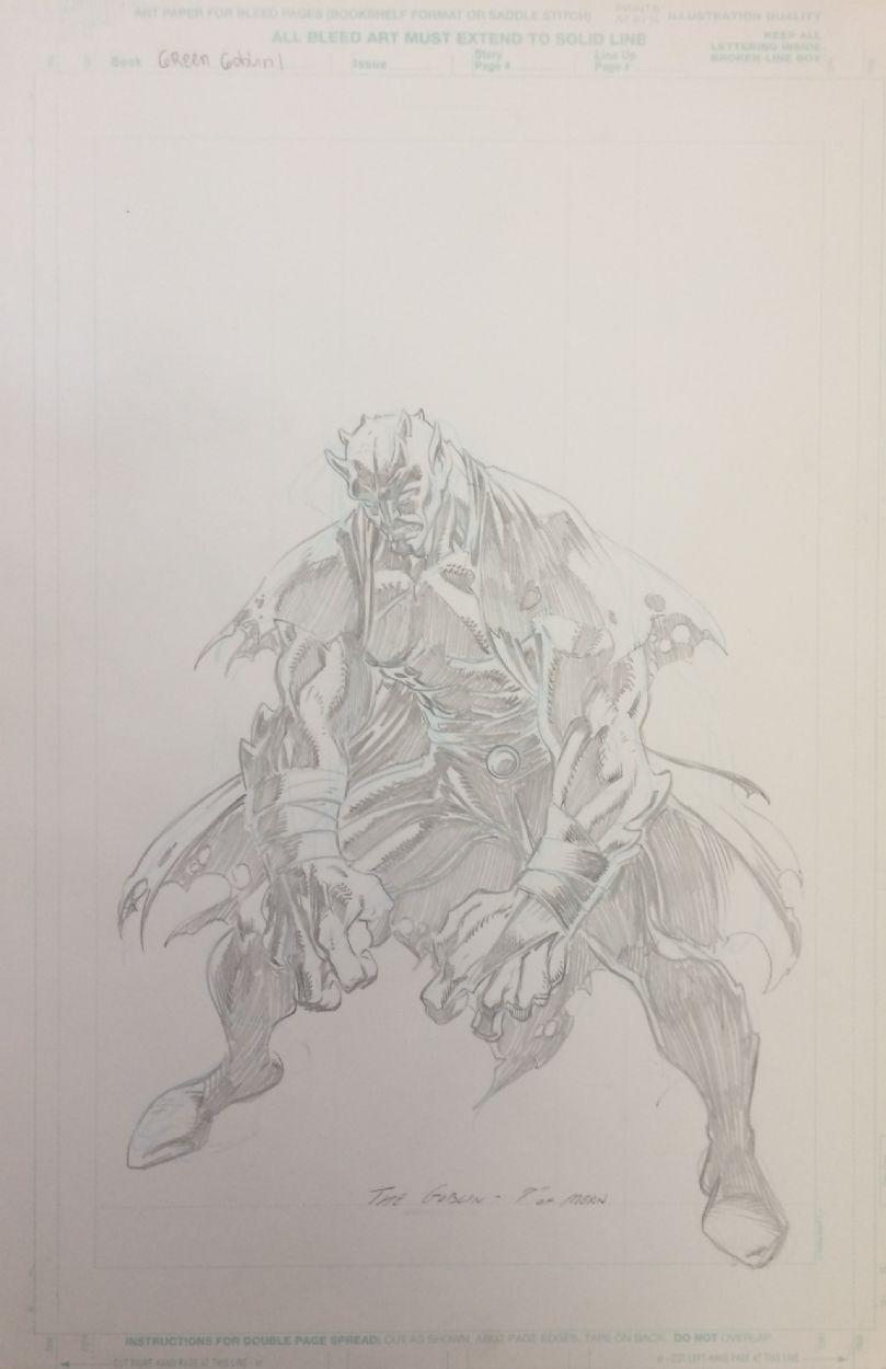 Ultimate Spiderman - Green Goblin (version 1) - W.B.