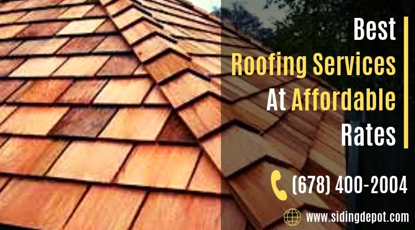 One Stop For All Your Roofing Works Siding Depot Is A Sincere And Authentic Company Situated At Marietta Georgia You C Roof Repair Roofing Roof Installation