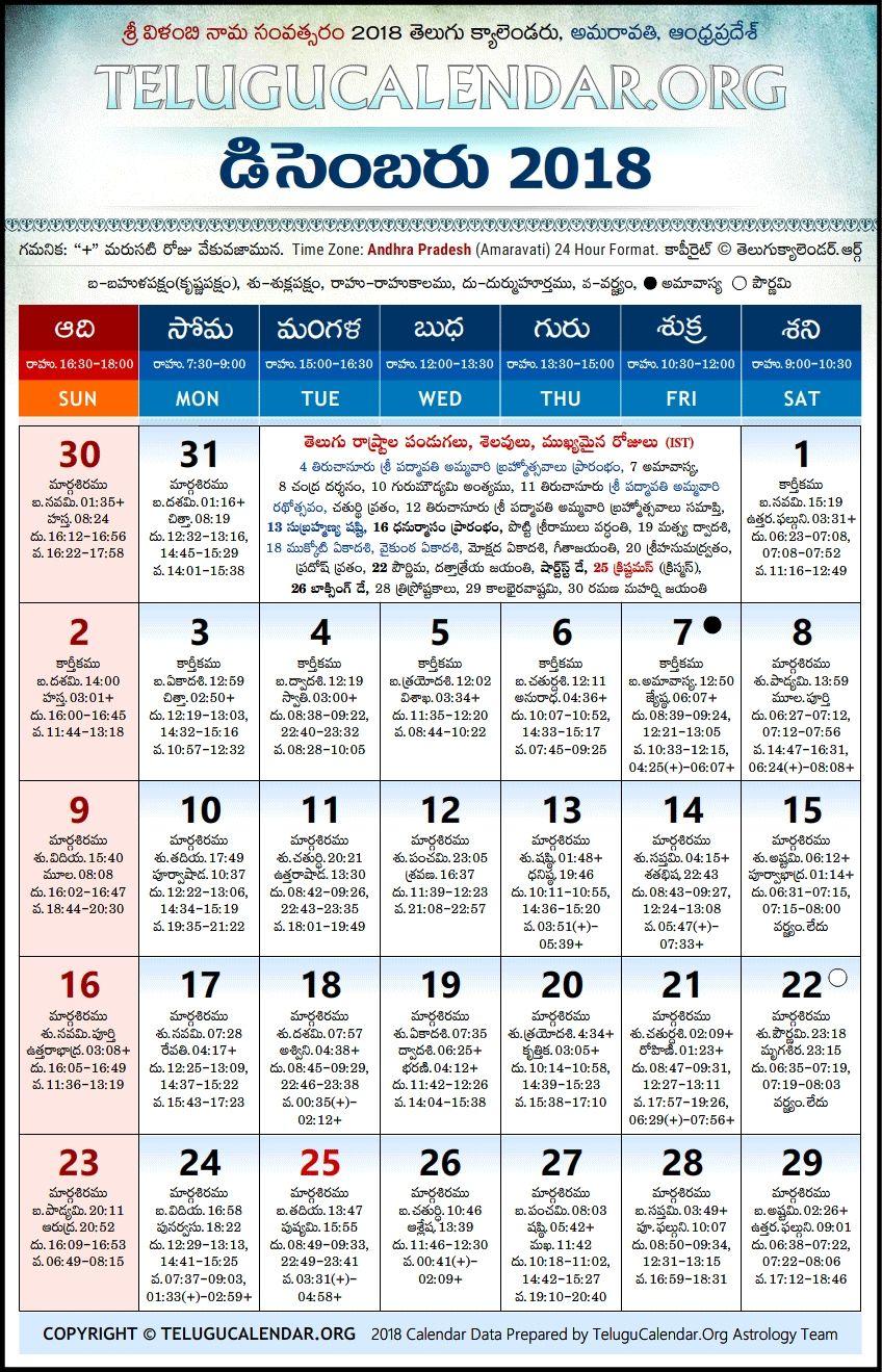 telugu 2018 calendar pdf free download