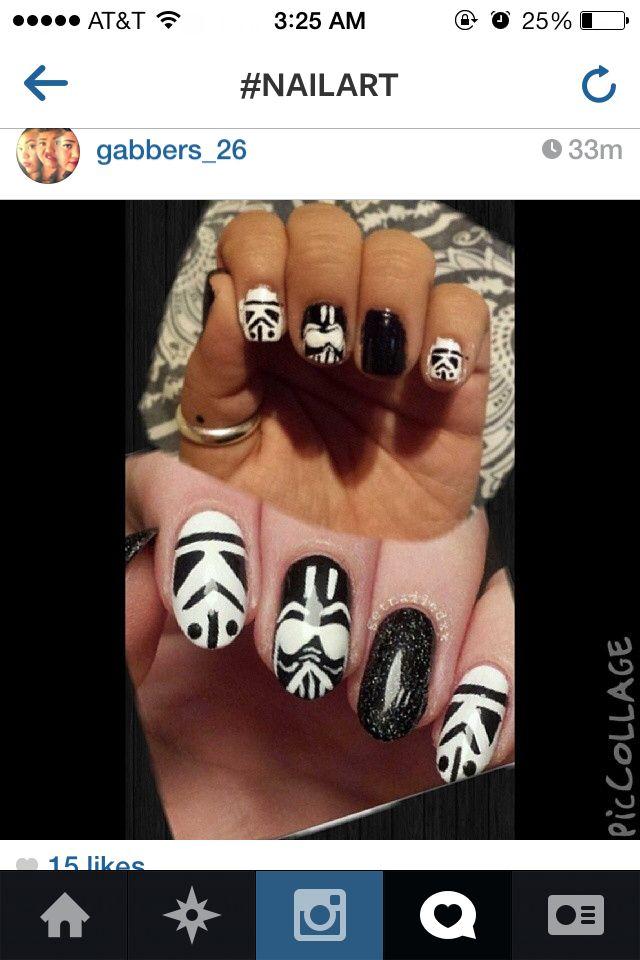 Nerd nails!   Pampered Phalanges   Pinterest   Make up