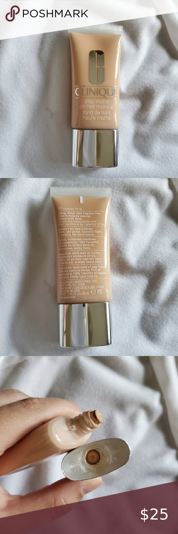 Clinique stay matte oil free foundation alabaster