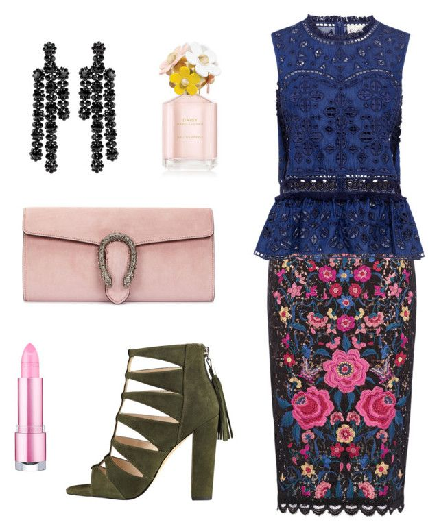 """""""bad religion"""" by anna-stasiav ❤ liked on Polyvore featuring Sea, New York, Gucci and Simone Rocha"""