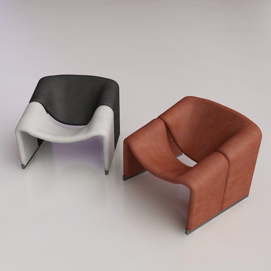 Pierre Paulin Groovy Lounge Chair