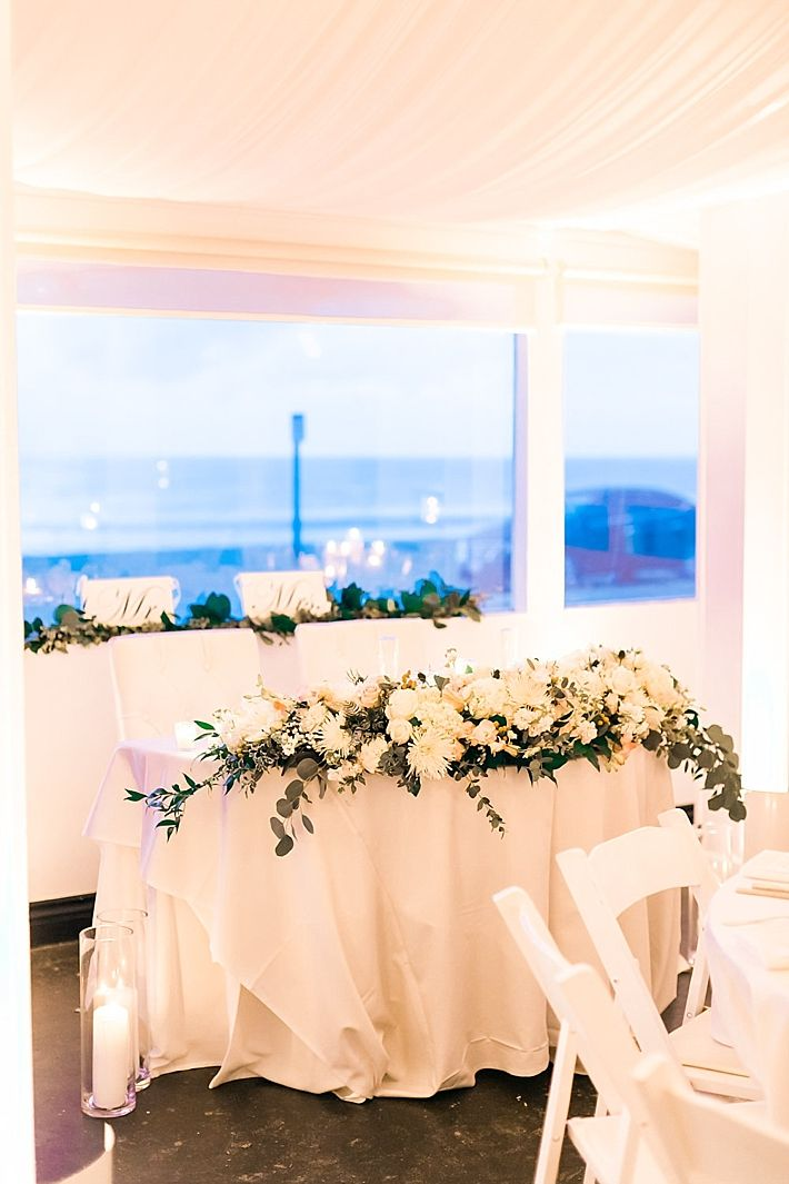 Elegant And Classy Malibu Winter Beach Wedding At The Sunset