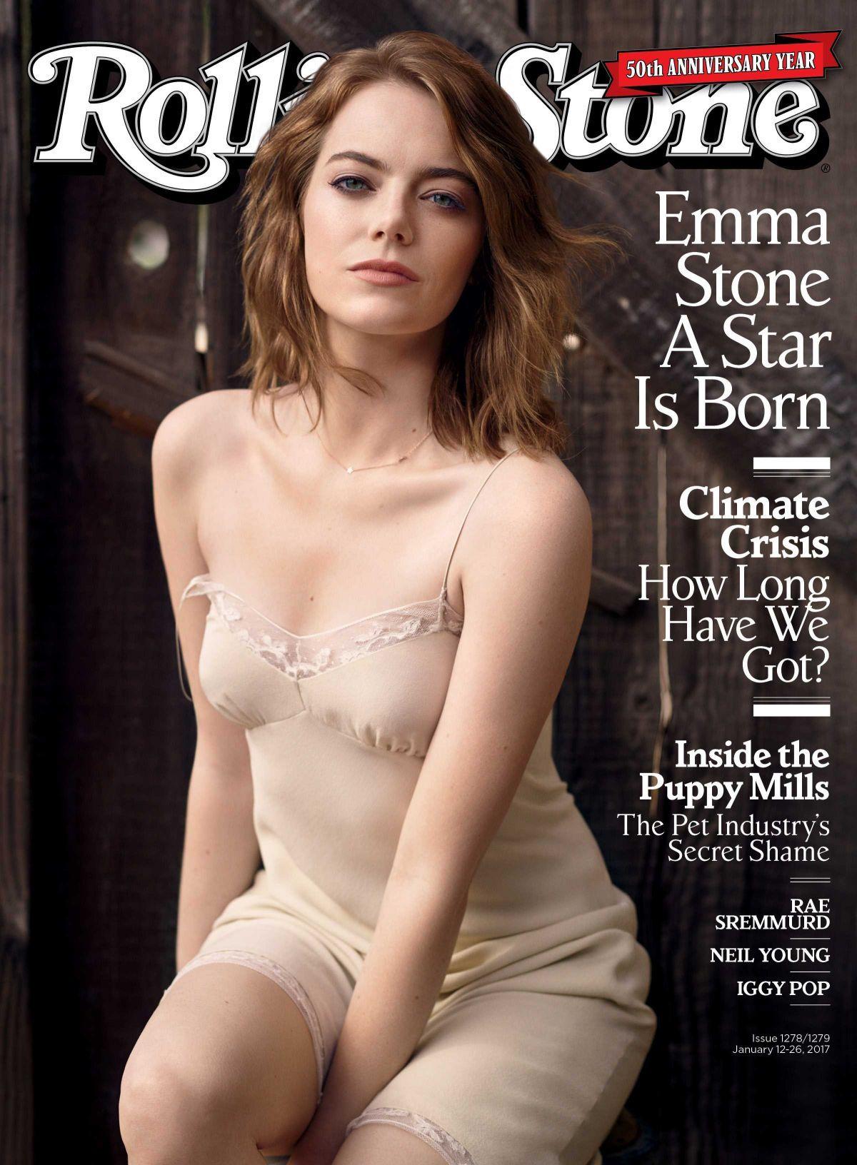 Emma Stone Actress Model Sexy