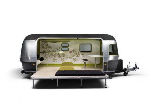 Design Collaboration: Airstream/Mini Cooper/Fritz Hansen