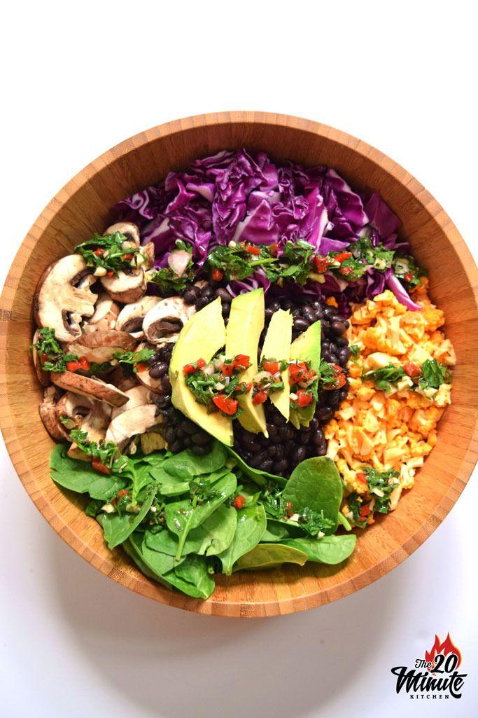 Raw Vegan Buddha Bowl