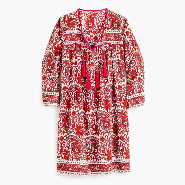 c0e79a360e SZ Blockprints™ for J.Crew Leyla dress - I would wear this as a beach cover  up