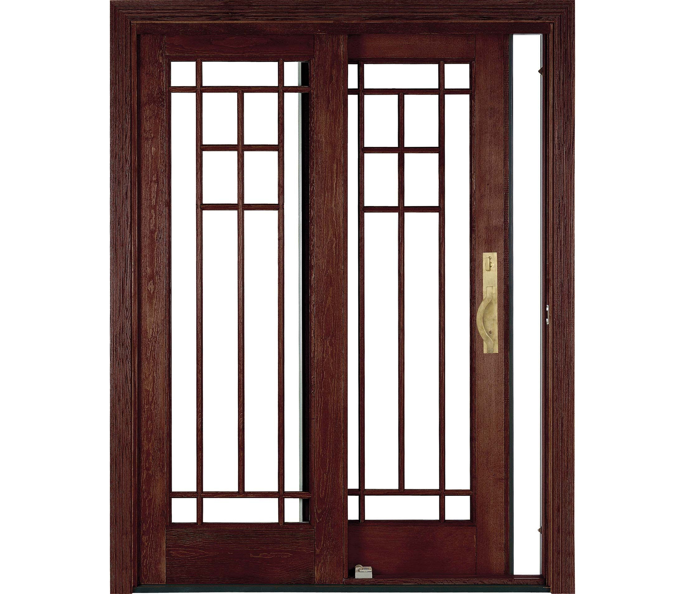 Sliding Wood Patio Doors architect series sliding patio door | pella | craftsman dream