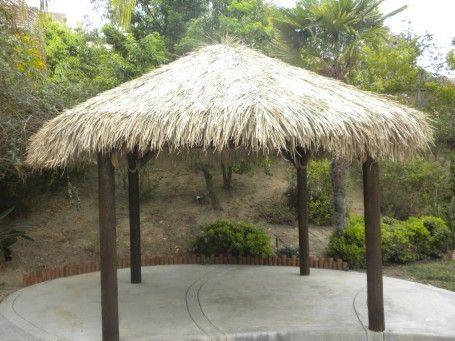 12 Four Pole Tiki Hut