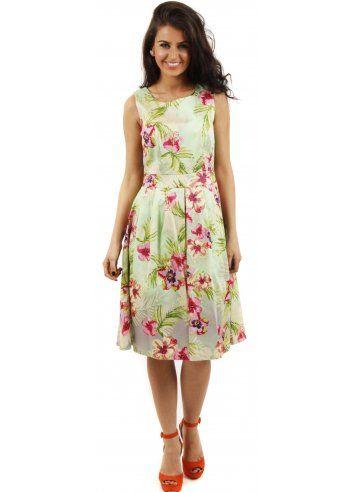 Gorgeous Floral Print Day Dress