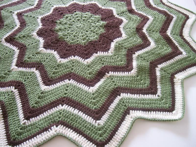 Round Ripple Afghan | Crochet | Pinterest