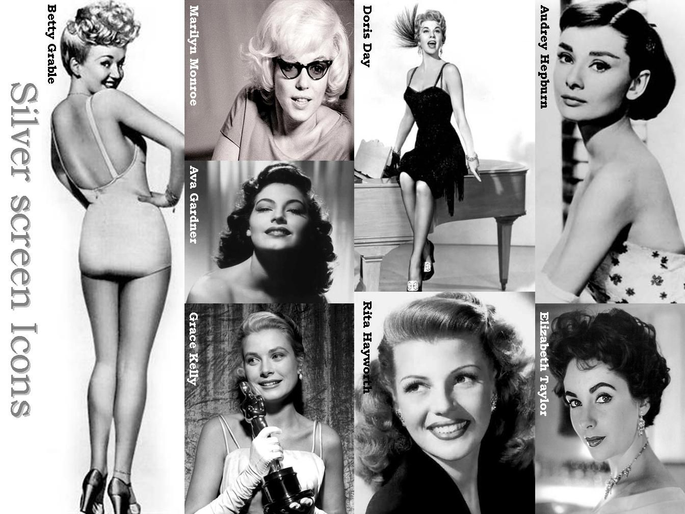 Female 50's icons | Year of 50/60's | Pinterest | Fashion ...