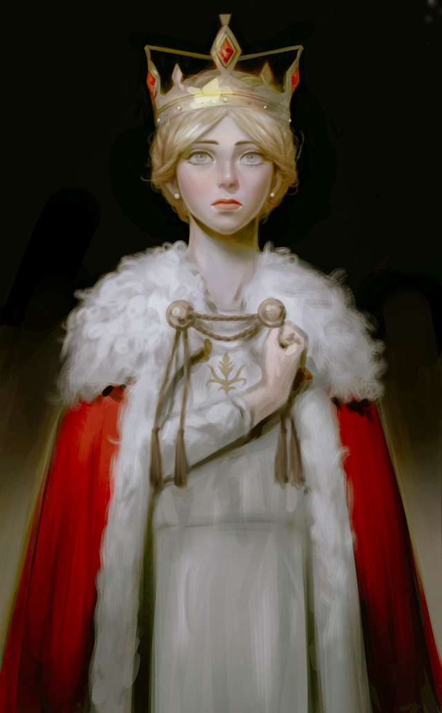 Queen Historia of Paradis - 850 | Art by me (@bakvvan)