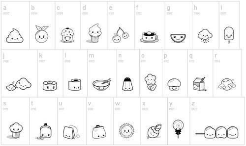12 Cool Free Fonts For Website Design Kawaii Super Kawaii Website Fonts
