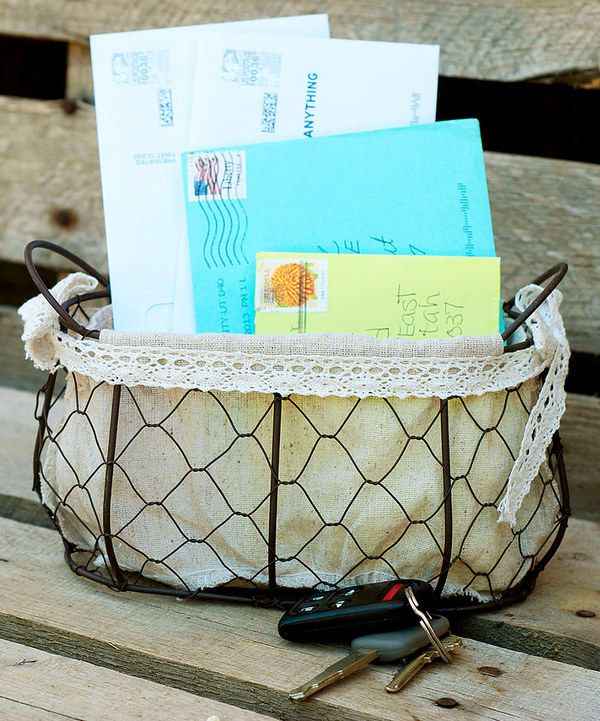 Expect Personality Small Chicken Wire Basket | Chicken wire, Wire ...