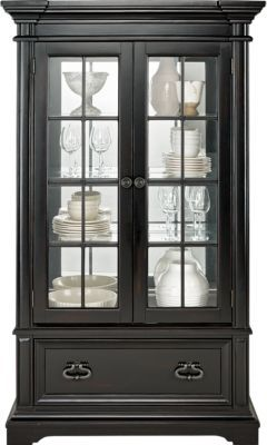 Eric Church Highway To Home : church, highway, Church, Highway, Arrow, Ridge, Ebony, China, Cabinet, Cabinet,, Affordable, Dining, Room,, Farmhouse