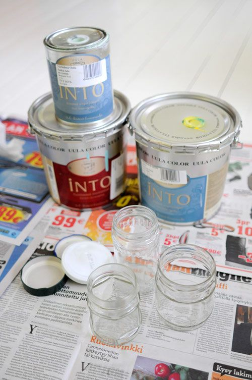 How To Decorate Glass Jars Painting Pretty Jars  Gift Ideas  Pinterest  Jar Tutorials And