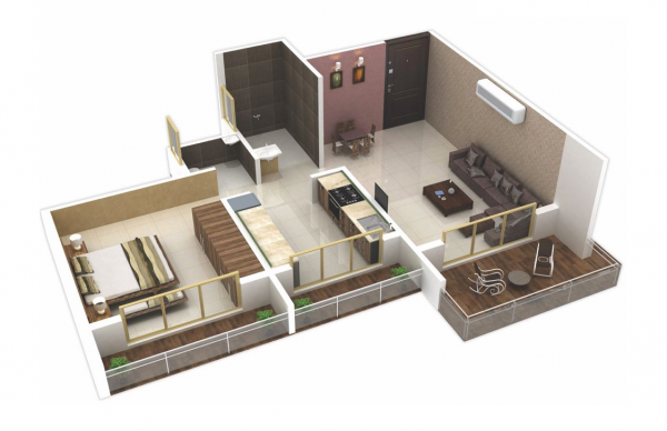 25 One Bedroom House Apartment Plans One Bedroom House Bedroom Floor Plans One Room Houses