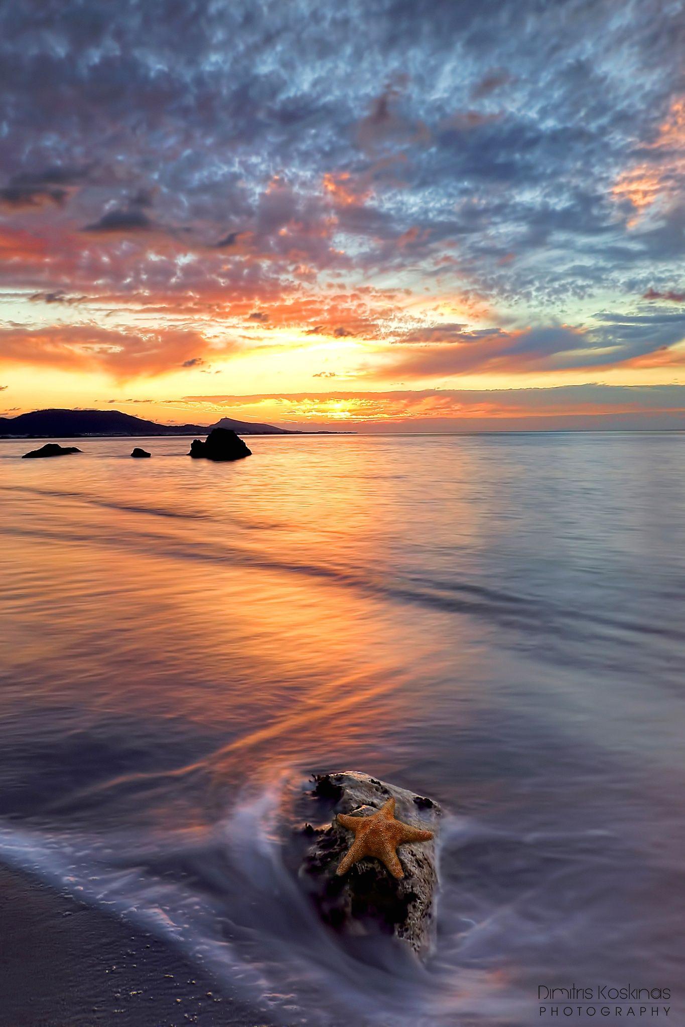 Starfish on the Rock by Dimitris Koskinas on 500px