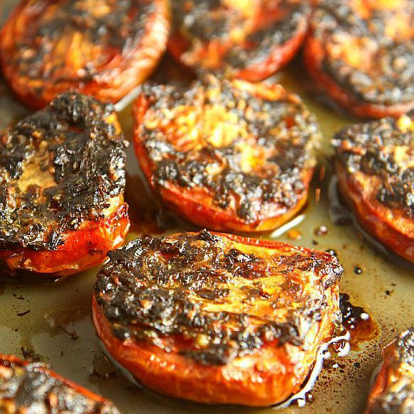 Roasted Tomatoes with Cilantro are the perfect addition to any Mexican dish...eat with bread, use as a topping for fish or…