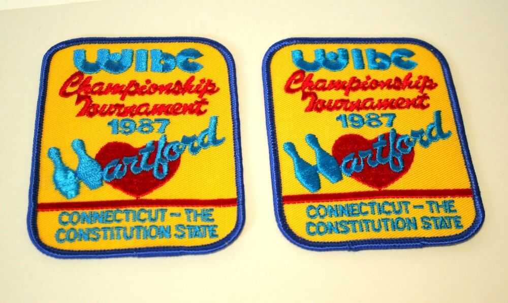 2 Wibc Women S Bowling Hartford Ct Championship Tour Patch New Nos 1987 In 2020 Patches Bowling Really Cool Stuff