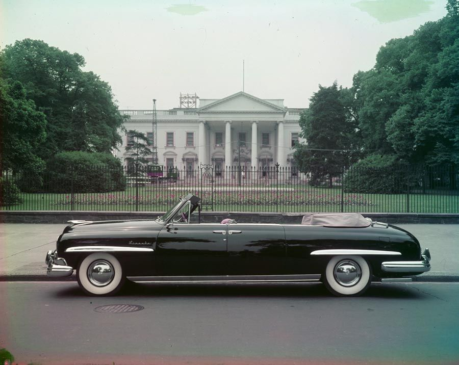 The 1950 Lincoln Presidential Convertible