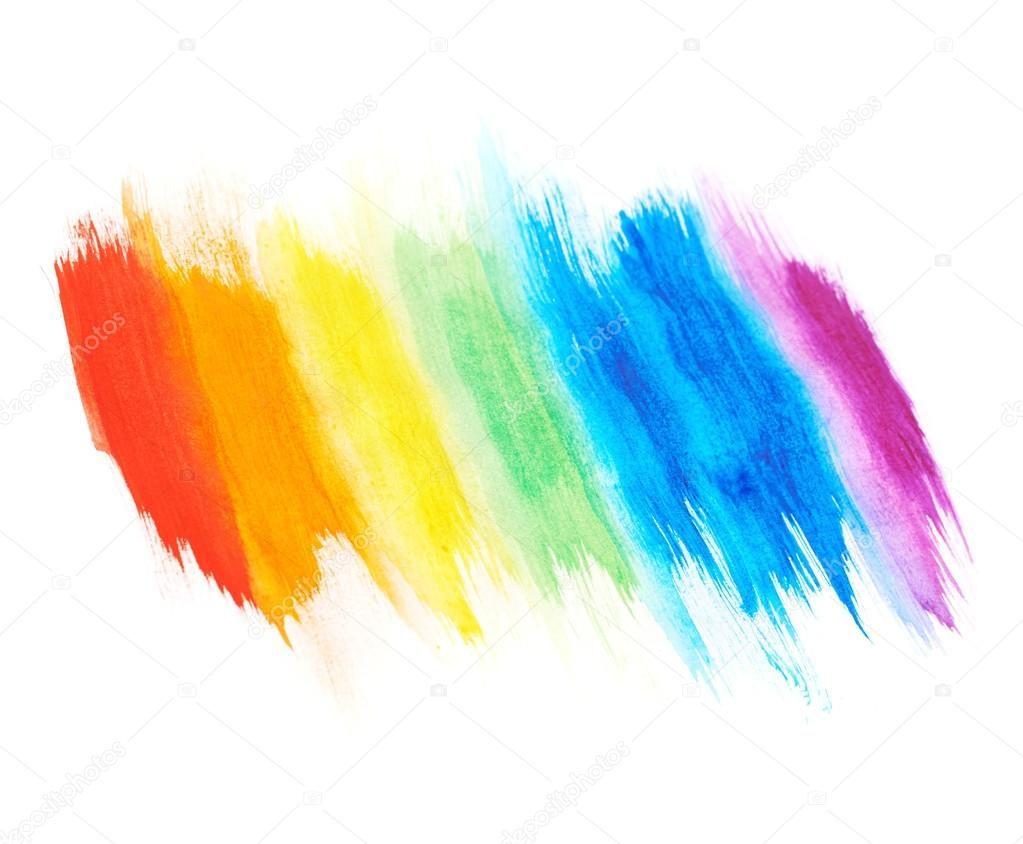 Traces De Peinture Arc En Ciel Photographie Exopixel C 60249975 Rainbow Painting Painting Abstract Artwork