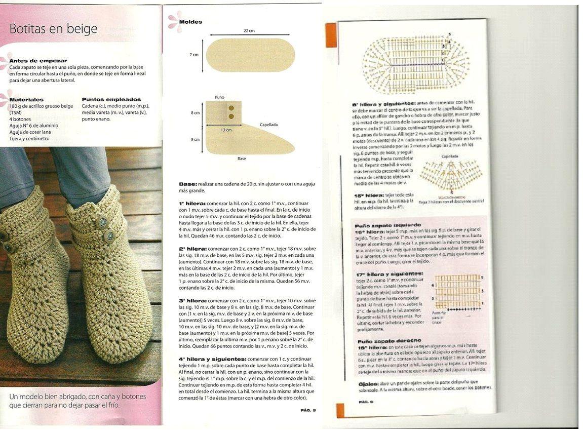 Pin by Chirila Corina Dorina on Crochet shoes, slippers, flip flops ...