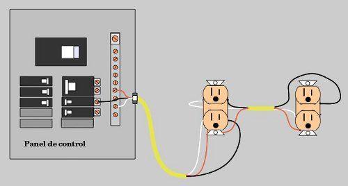 Conectar Interruptores Y Tomacorrientes Interruptor Electricidad Casa Electrotecnia
