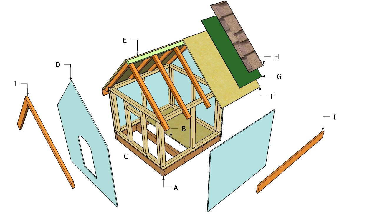 Simple wood frame house plans