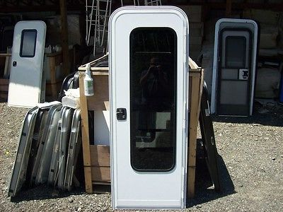New Rv Entry Entrance Doorlockscreen Door 26 X 74 Camper Cargo