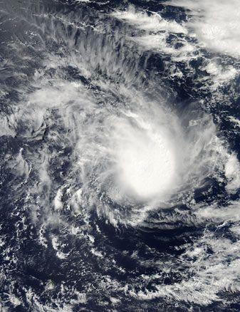 Tropical Cyclone Twentytwo (22S) in the Indian Ocean