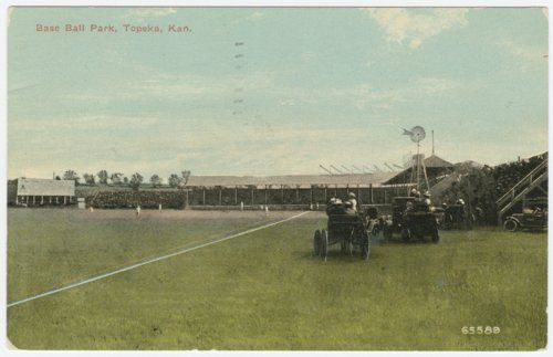 Ball park in Topeka, between 1904 and 1911