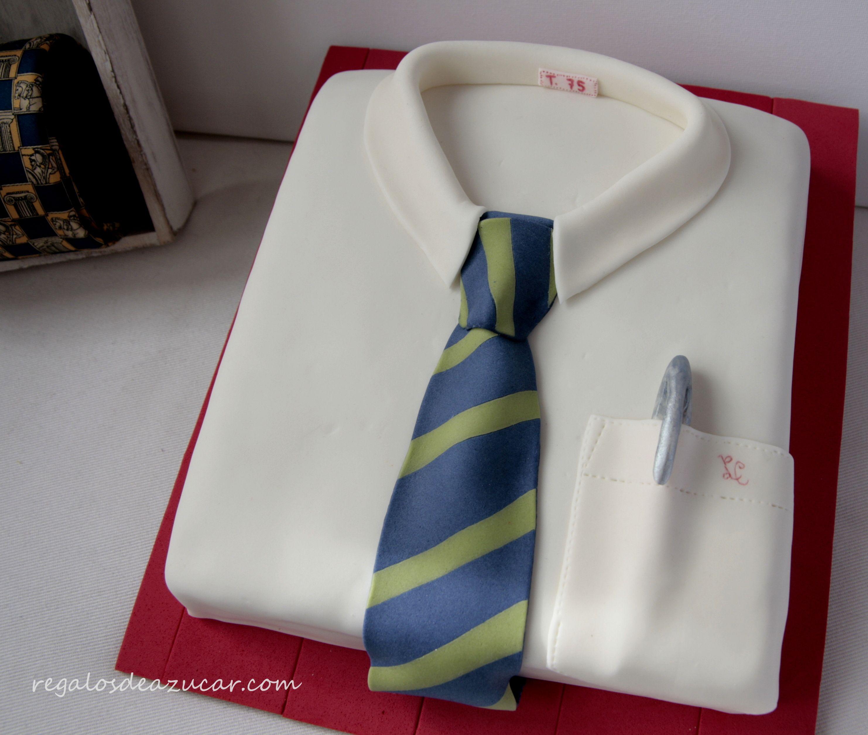 Shirt design cake - Tarta Camisa Shirt Cake