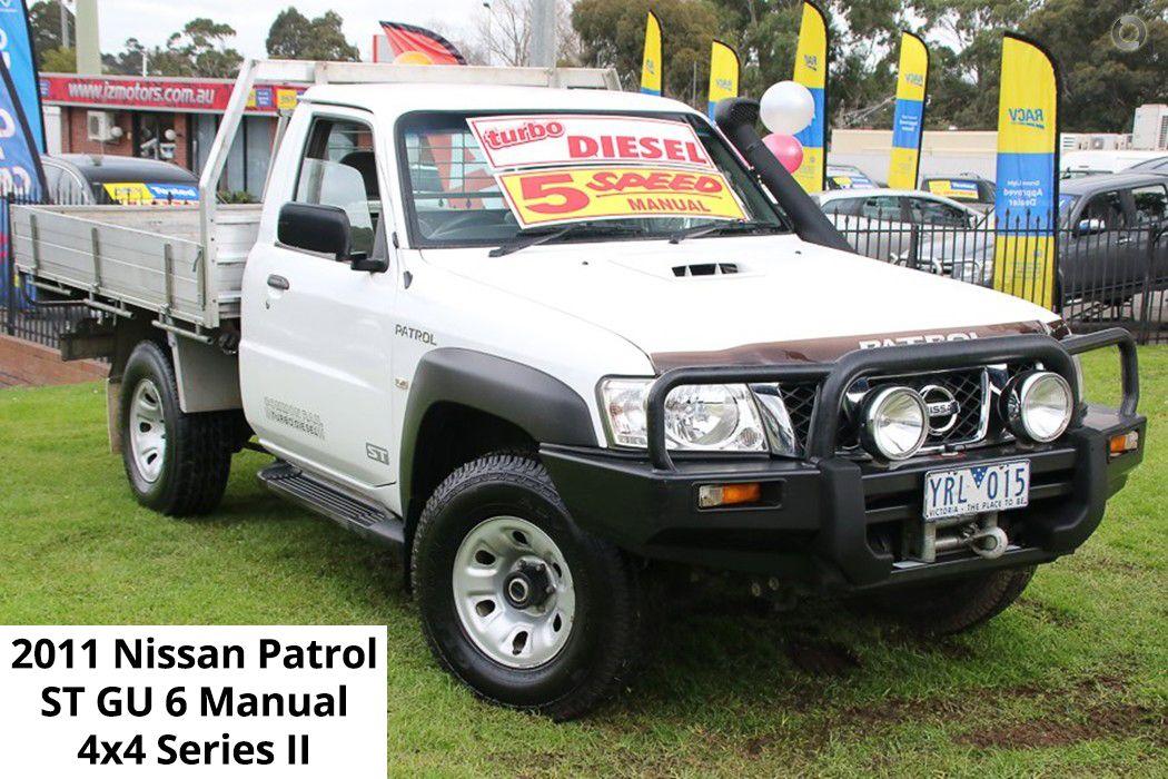 2011 Nissan Patrol ST GU 6 Manual 4x4 Series II check