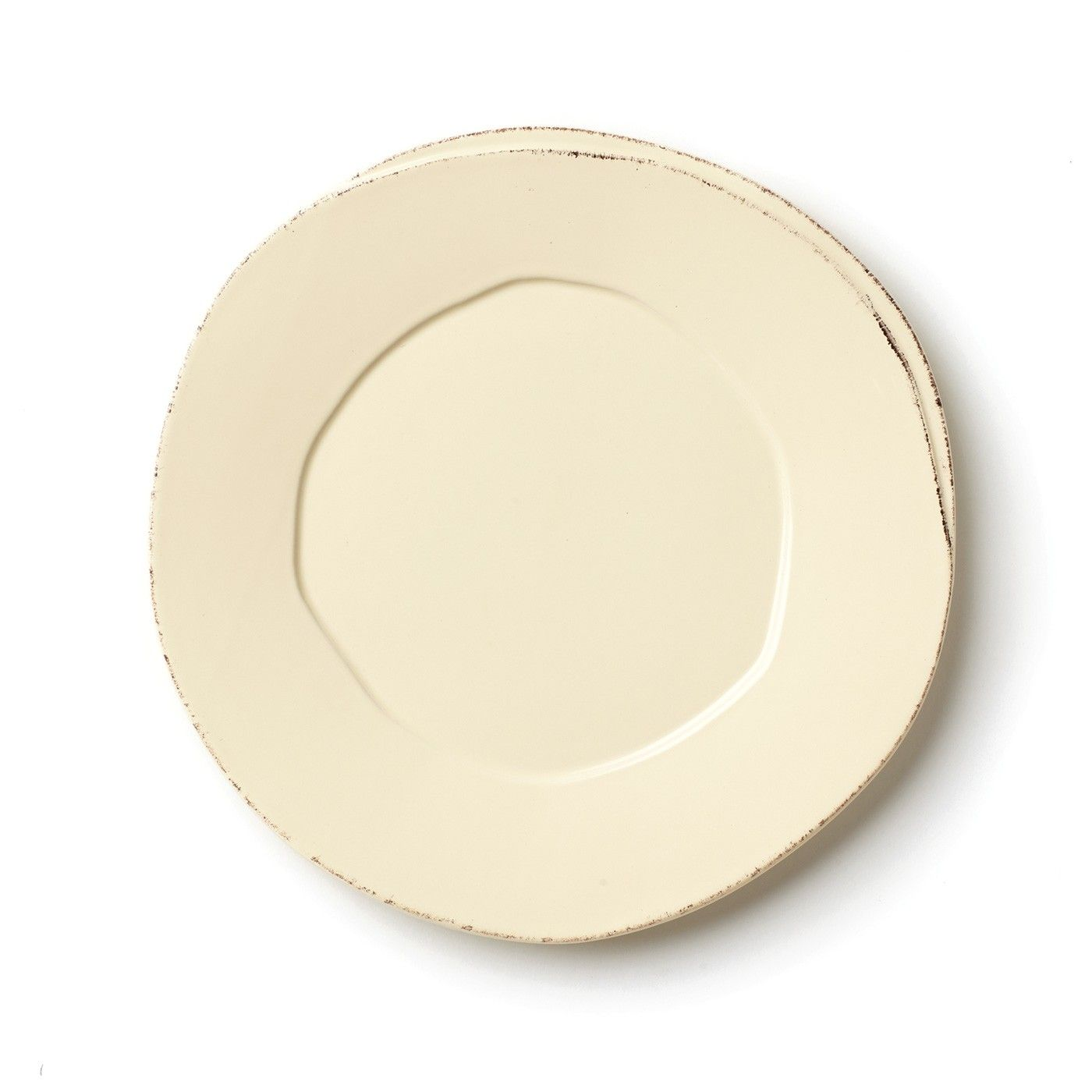 Rustic and chic the Lastra Cream European Dinner Plate is the slightly smaller of the  sc 1 st  Pinterest & Rustic and chic the Lastra Cream European Dinner Plate is the ...
