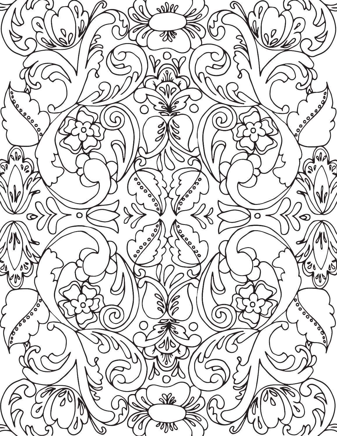 Rosemaling Coloring Book1 Coloring Books Coloring Pages Printable Coloring Pages