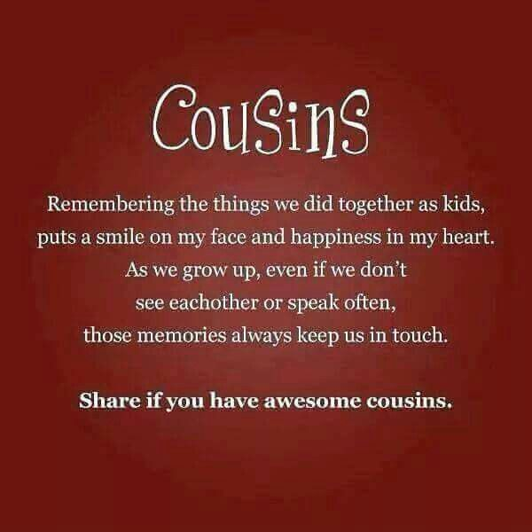 I LOVE MY COUSINS SM Quotes Pinterest Cousins Poem And Truths Gorgeous Cousin Love Quotes