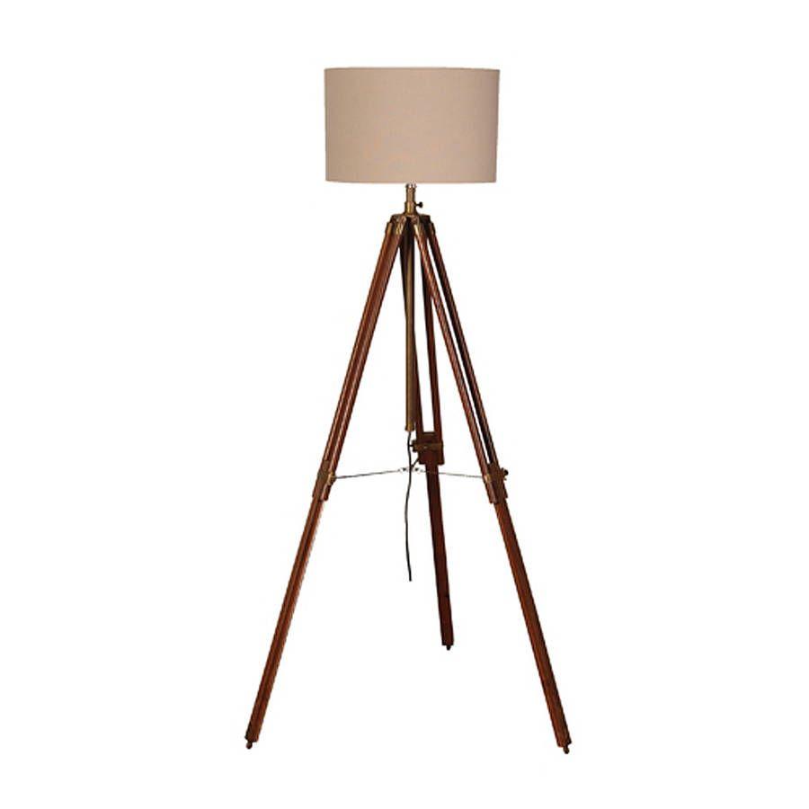 How to Refinish Brass Floor Lamp Wood - http://www.sheilahylton.com ...