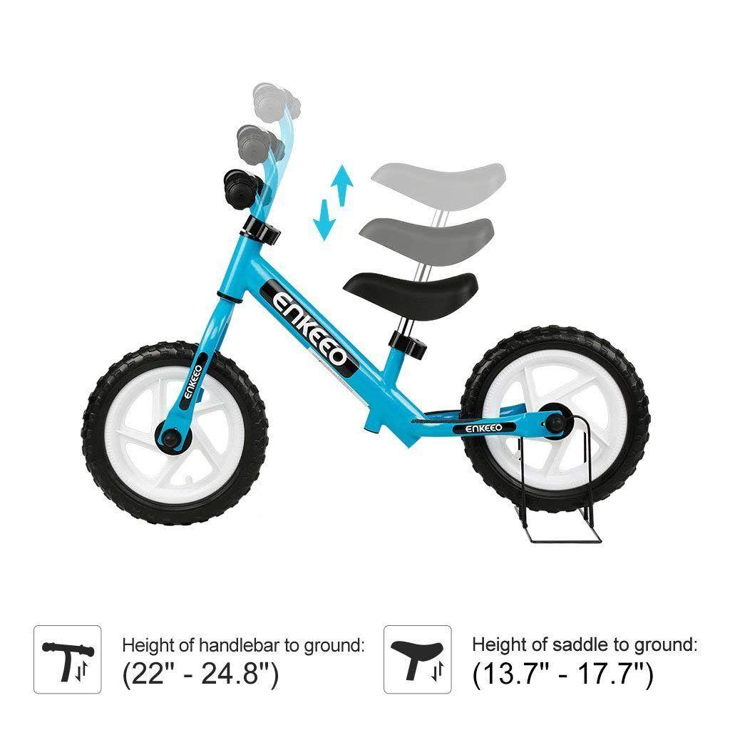 Enkeeo 12 Sport Balance Bike No Pedal Walking Bicycle With Carbon