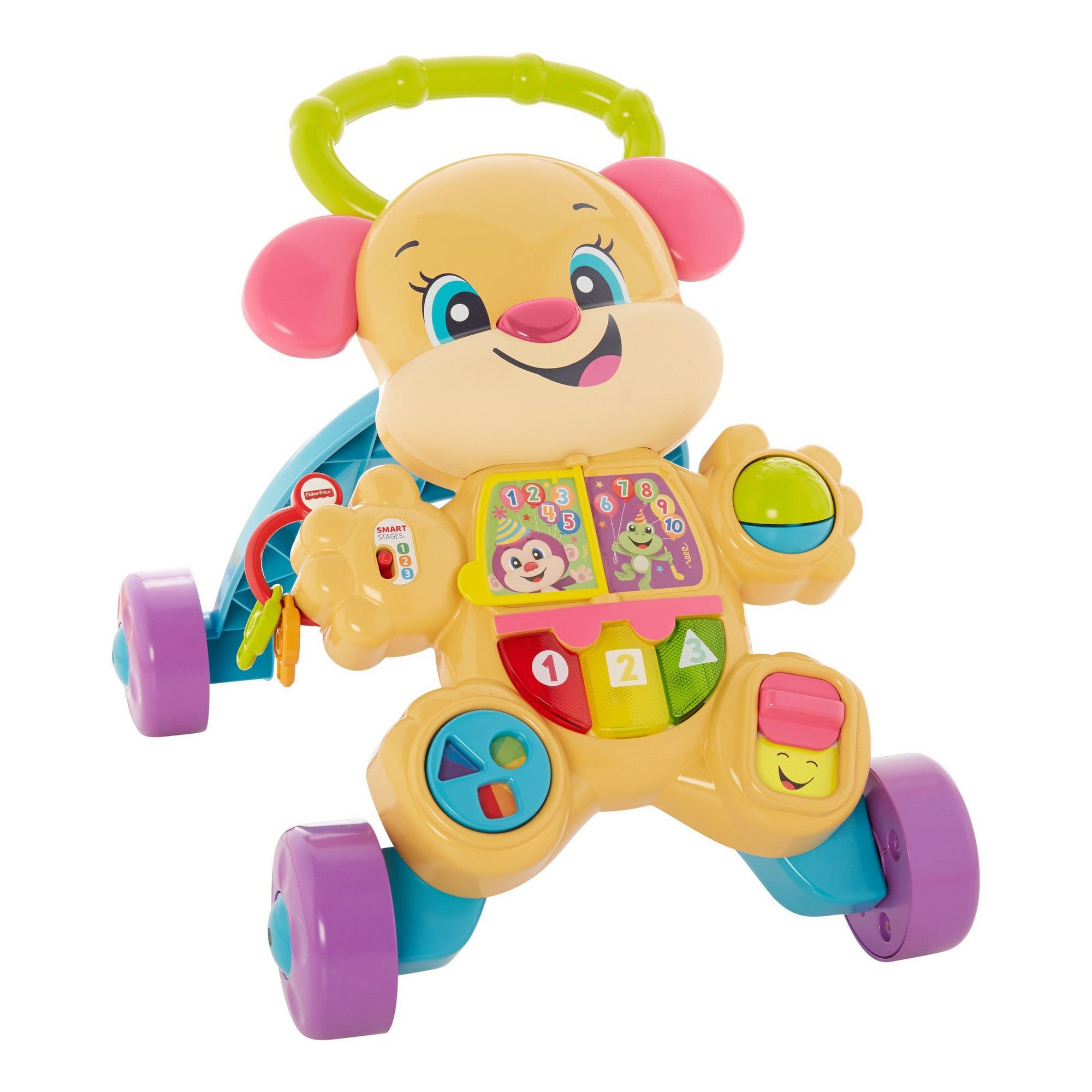 FisherPrice Laugh and Learn Smart Stages Puppy Walker