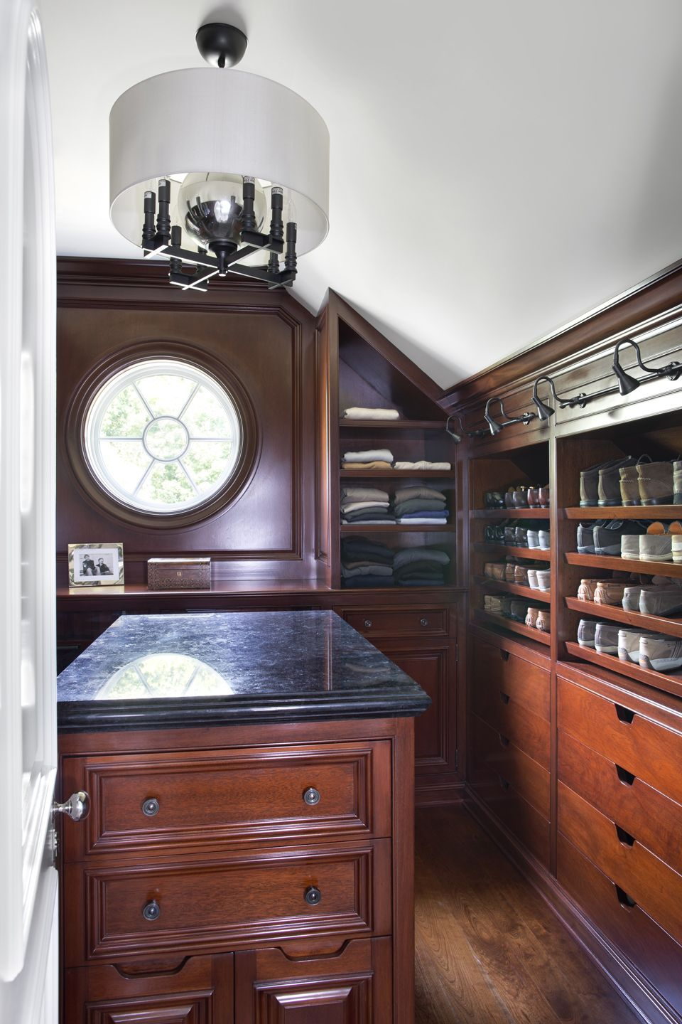 Greenwich, CT Pretty Cool, Pretty Intimate, Custom Closet In Wood