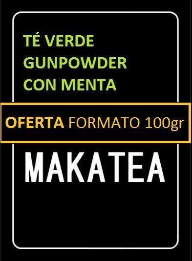 Comprar Té Verde Gunpowder con menta por sólo 2,40€