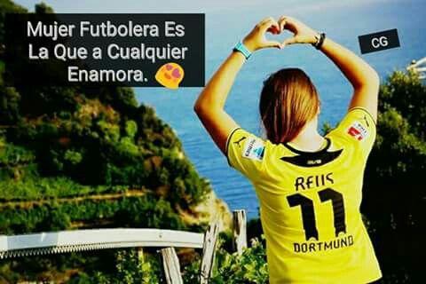 Mujer Futbolera Es La Que A Cualquiera Enamora